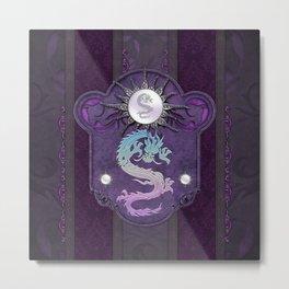 Beautiful chinese dragon Metal Print