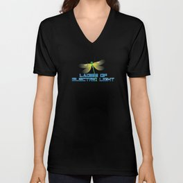 LADIES OF ELECTRIC LIGHT DRAGONFLY EDITION Unisex V-Neck