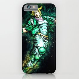 Jojos Bizarre Adventure Cesar Zeppeli iPhone Case