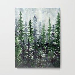 Lost In Nature Metal Print