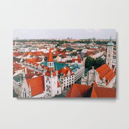Hues Line is it Anyway? | Munich, Germany Metal Print