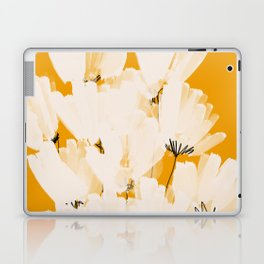 Flowers In Tangerine Laptop & iPad Skin