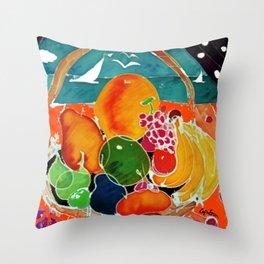 Fruit Bounty Australia           by Kay Lipton Throw Pillow