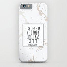 Gilmore Coffee iPhone Case