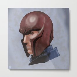 Magneto Metal Print