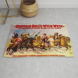 Buffalo Bill Cody - Rough Riders Rug