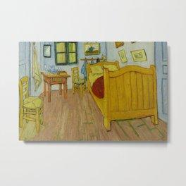 Bedroom in Arles by Vincent van Gogh Metal Print