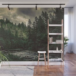Pacific Northwest River - Nature Photography Wall Mural
