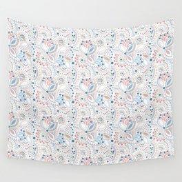 Retro , polka dot Wall Tapestry