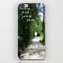 The Way, the Truth, and the Life iPhone Skin