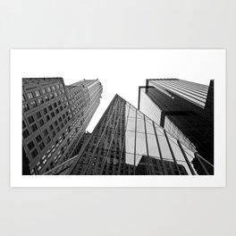 New York Building Art Print
