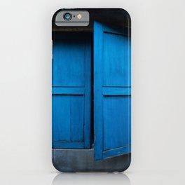 Blue Shutters - Hoi An, Vietnam iPhone Case