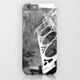 The man cave iPhone Case