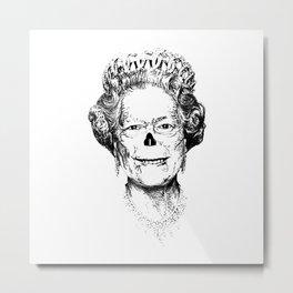 The Warming Dead! The Queen. Metal Print