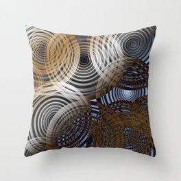 Warpdrive Throw Pillow