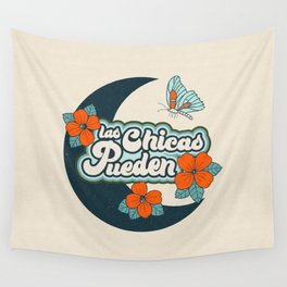 Las Chicas Pueden Wall Tapestry