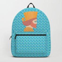 Ancient Persian Warrior Pop Art Backpack