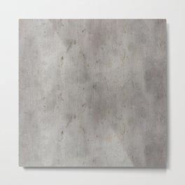 Dirty Bare Concrete Metal Print