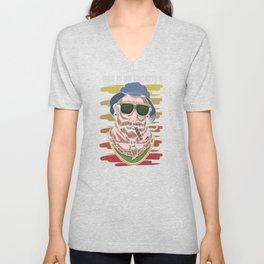 Dad is on vacation, family trip Unisex V-Neck