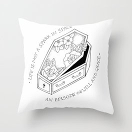 Do Better // Say Anything Throw Pillow