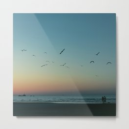 (Sun is) Gone Metal Print