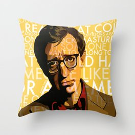Woody Allen - Annie Hall I Throw Pillow