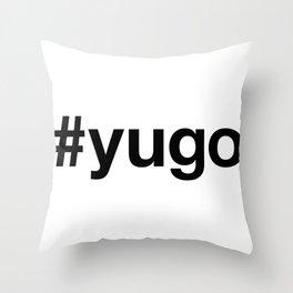 YUGOSLAVIA Throw Pillow
