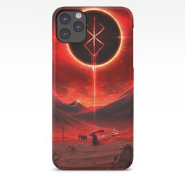 Berserk Demon Mark Moon iPhone Case