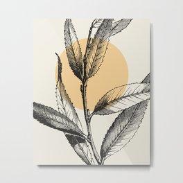 Antique botanical 3 Metal Print