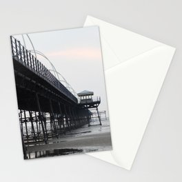 southport pier at twilight Stationery Cards