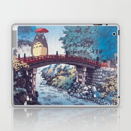 My neighbour Toto vintage japanese mashup Laptop & iPad Skin
