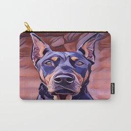 I Love My Doberman Pinscher Carry-All Pouch