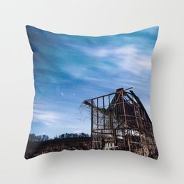 Cold Wisconsin Nights Throw Pillow