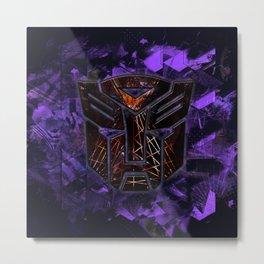 Autobots Abstractness - Transformers Metal Print