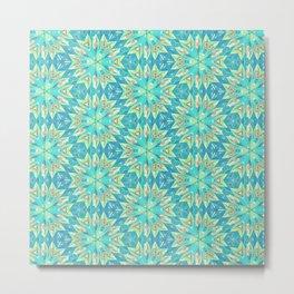 Beautiful Abstract Pattern Metal Print