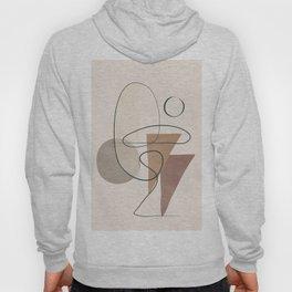 Minimal Abstract Shapes No.61 Hoody