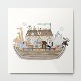 little ark Metal Print