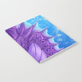 Purple Dragon Notebook