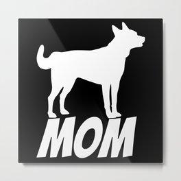 Dog Mother Metal Print
