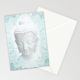 Buddha Dream Mandala Spiritual Zen Bohemian Hippie Yoga Mantra Meditation Stationery Cards