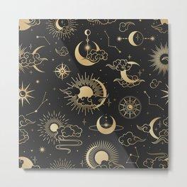 Astronomy Stars Metal Print
