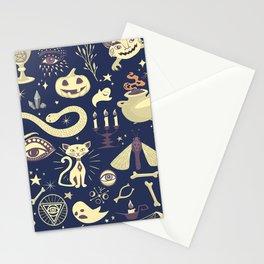 Halloween Magic Stationery Cards