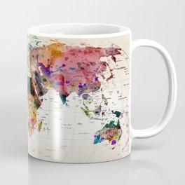 map Kaffeebecher
