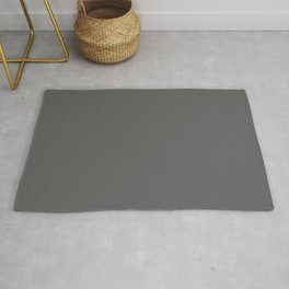 PLAIN SOLID DARK GREY COLOR FOR COMPLIMENTARY PATTERNS Rug
