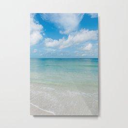 Florida Ocean View VI Metal Print
