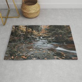 Autumn Creek - Landscape and Nature Photography Rug
