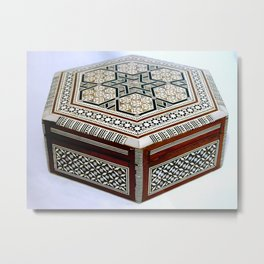 The box Metal Print