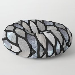 Silver Scales Floor Pillow