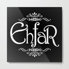EHFAR Metal Print