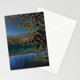 Reservoir of Time in Mountains of Memory Stationery Cards
